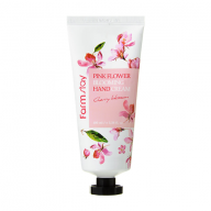 Farmstay, pink flower blooming hand cream,  Сакура 100 мл